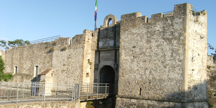 The Aragonese Castle of the ancient village of Agropoli